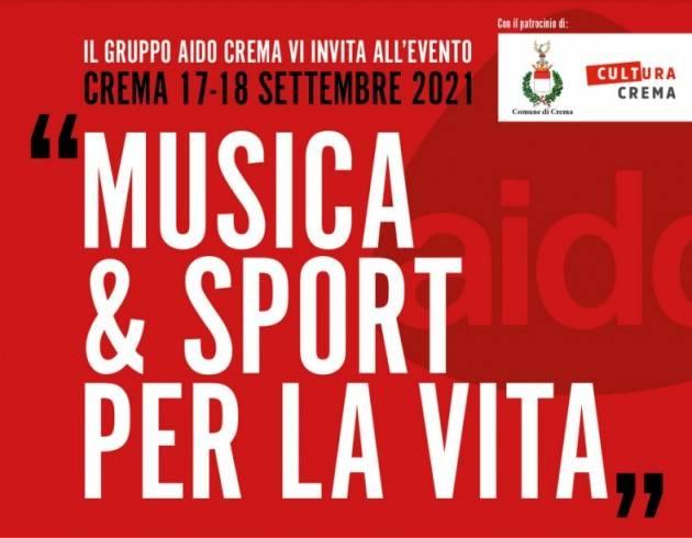 Crema AIDO  Musica & Sport per la Vita