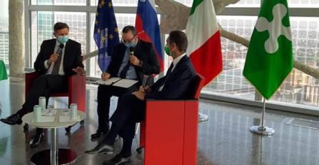 Fontana incontra il Presidente sloveno Paho