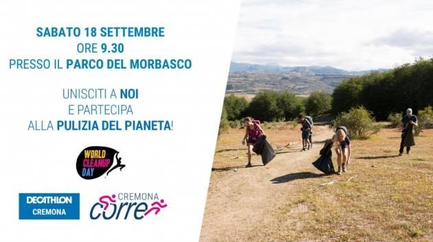 Cura dell'ambiente attraverso l'esercizio fisico, arriva a Cremona il CleanUp Day