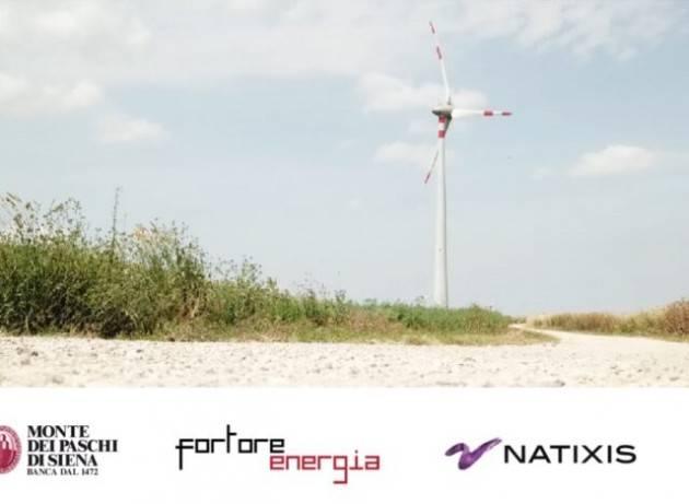 Montepaschi e Nastix finanziano l'energia eolica