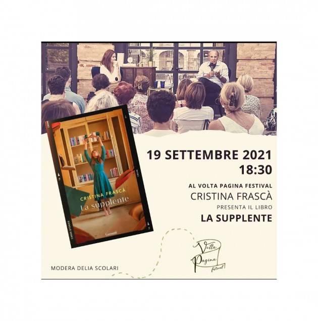 Appuntamento tutto al femminile quello di domenica 19 settembre al Volta Pagina Festival.