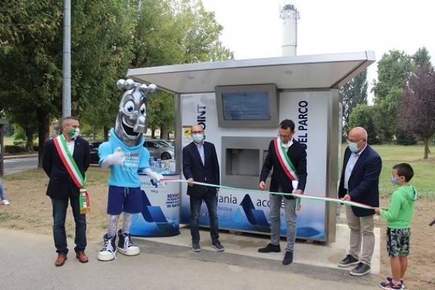Bonemerse, Padania Acque : inaugurata la casa dell'acqua 'Fonte del Parco'