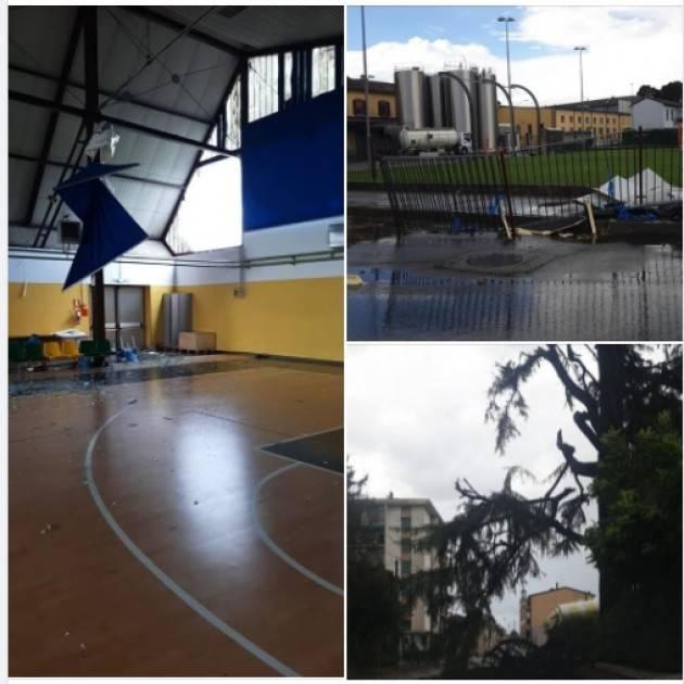 Tornado a Soresina. La nota del sindaco Diego Vairani
