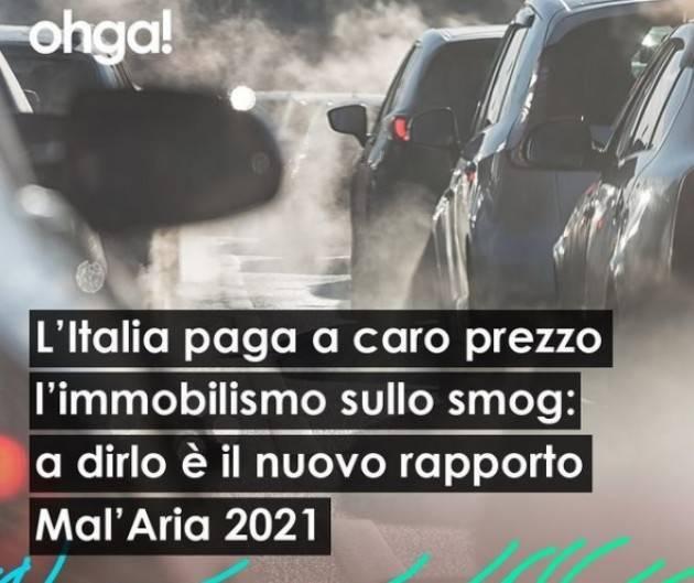OHGA Inquinamento aria CR 4° in classica con 38 gg superamento limiti