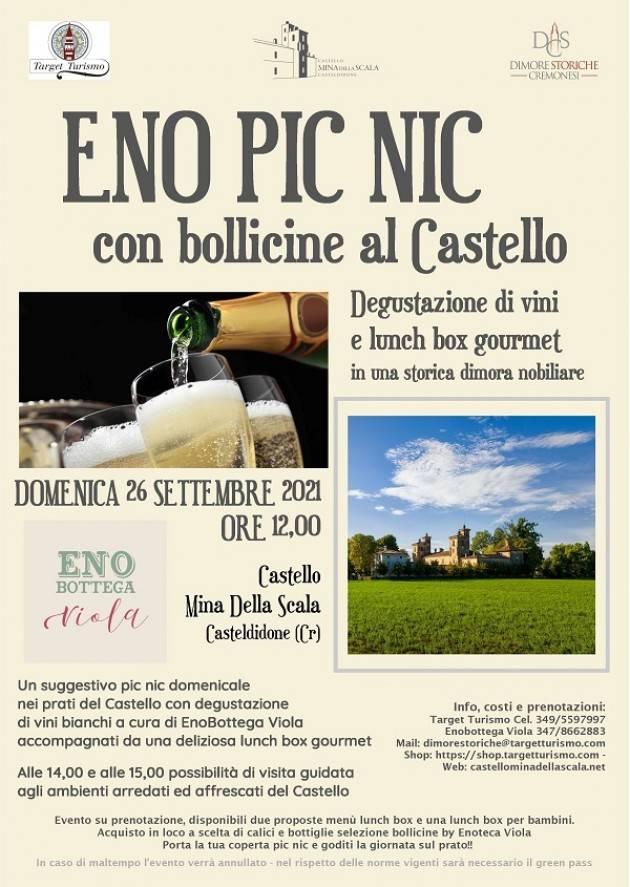 Casteldidone  Evento PicNic al Castello Mina Della Scala del 26 settembre 2021