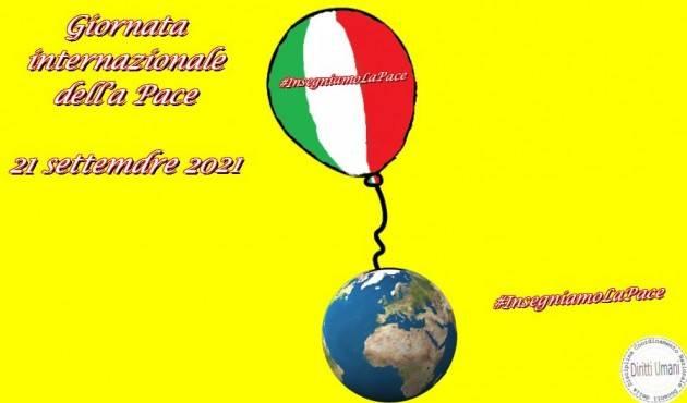 CNDDU 21 settembre  Iniziative per la Giornata mondiale della pace 2021