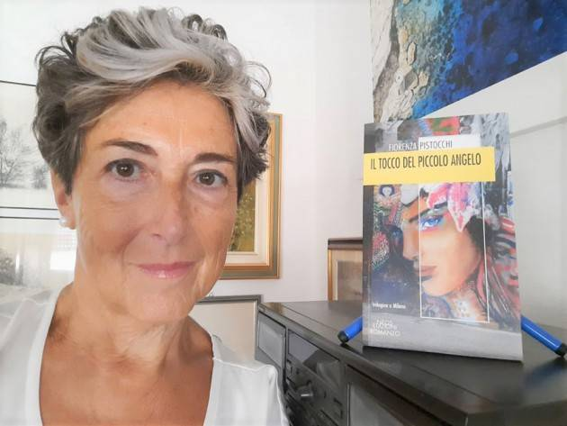 FIORENZA PISTOCCHI 'IL TOCCO DEL PICCOLO ANGELO'  IN LIBRERIA E STORE