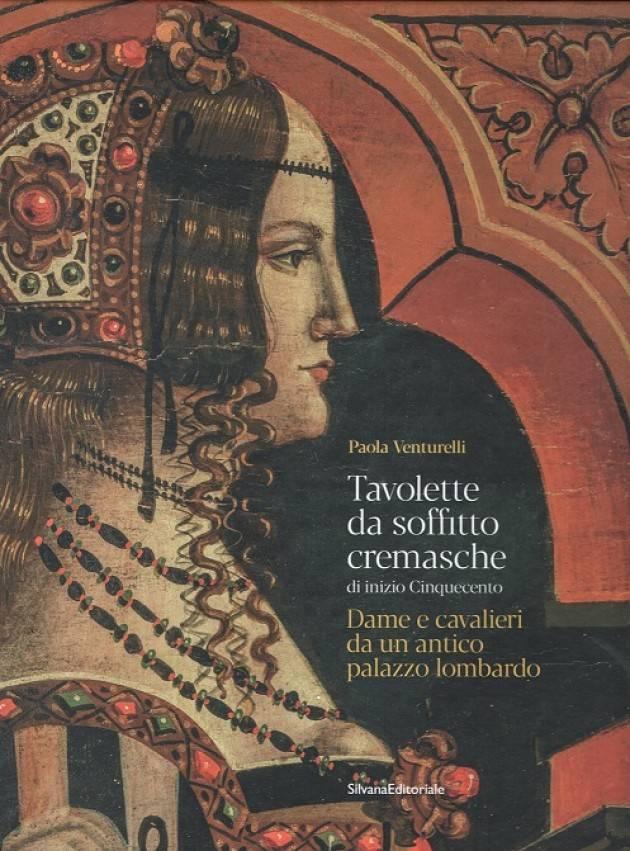 Libreria Cremasca. Presentazione libro P. Venturelli, Tavolette soffitto ....