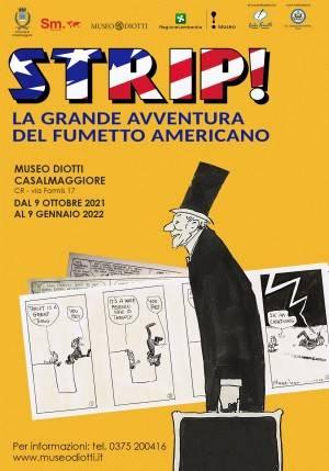 Casalmaggiore 'STRIP! LA GRANDE AVVENTURA DEL FUMETTO AMERICANO'