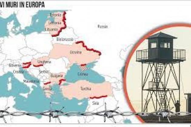 Cremona Pianeta Migranti. L'Europa costruisce nuovi muri per fermare i migranti.