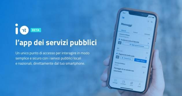 Piacenza Dal 1/10/21 tramite la App IO, arrivano per i servizi più utilizzati
