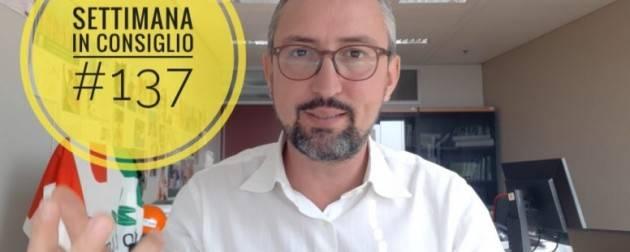 Matteo Piloni (PD) Ambiente prima di tutto e terza dose vaccino  (Video)