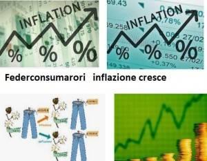 Federconsumatori Inflazione: il tasso al +2,6%, al top da ottobre 2012