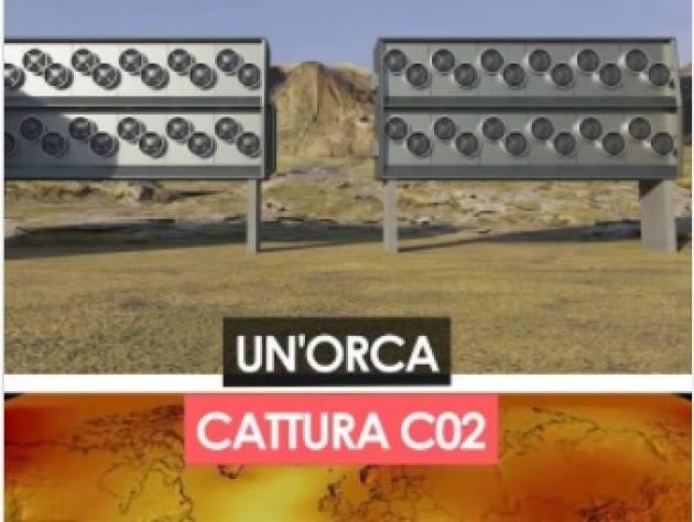 Ohga Orca, l'impianto più grande al mondo che cattura anidride carbonica