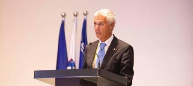 Conferenza con i capi delle polizie dell'Europol all'Aja