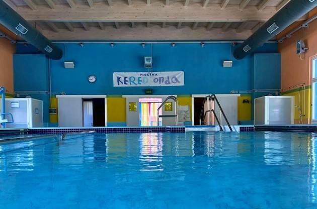 Crema Anffas Crema, lunedì 11 ottobre riapre la piscina Kered'Onda