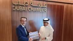 Fontana a Dubai: l'incontro con il Ministro Thani Al Zeyoudi