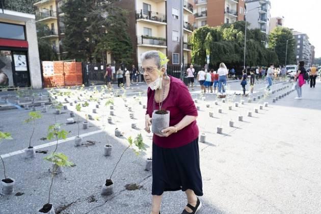 Milano City Forest Community: il 10 ottobre saranno posate 1000 piante
