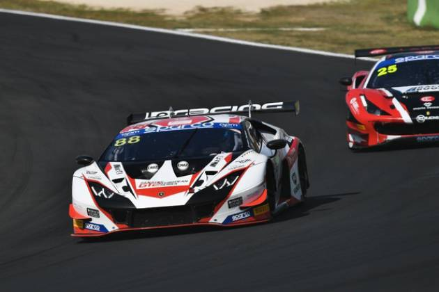 Pietro Perolini, Pronto per l'Atto Finale del Tricolore GT Sprint