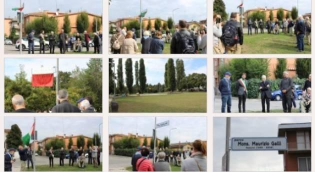 Cremona PARCO ARGINE PANIZZA INTITOLATO A MONS. GALLI