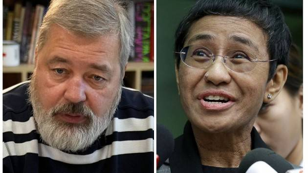 CNDDU Maria Ressa e Dmitry Muratov (premio Nobel per Pace 2021)