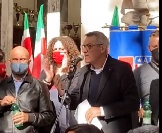 Roma Attacco alla Cgil, Landini Abbiamo sconfitto il fascismo. Non ci fanno paura