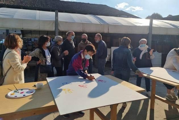 La festa per i 20 anni della Comunità Emmaus di Canove de' Biazzi.