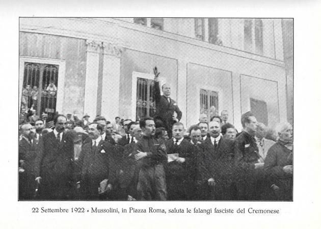 I fascisti assaltarono la Cgil di Cremone nel luglio 1922  Giuseppe Azzoni