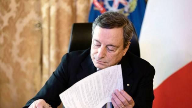 Green Pass Draghi firma Dpcm linee guida P.A. Senza certificato non si lavora