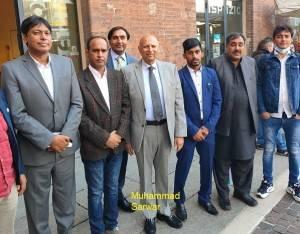CR Il Sindaco incontra  Governatore Punjab pakistano, Chaydray Muhammad Sarwar