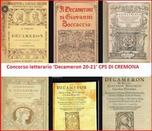Le premiazioni  Concorso letterario 'Decameron 20-21' CPS CREMONA (Video)