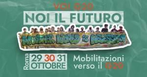 ROMA VOI G20, NOI IL FUTURO GIORNATA NAZIONALE DI MOBILITAZIONE
