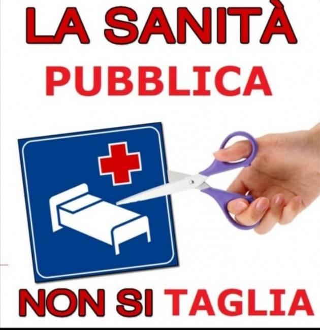 Sanità Cremonese ADESSO BASTA  sabato 30 presidio davanti Hosp di Cremona
