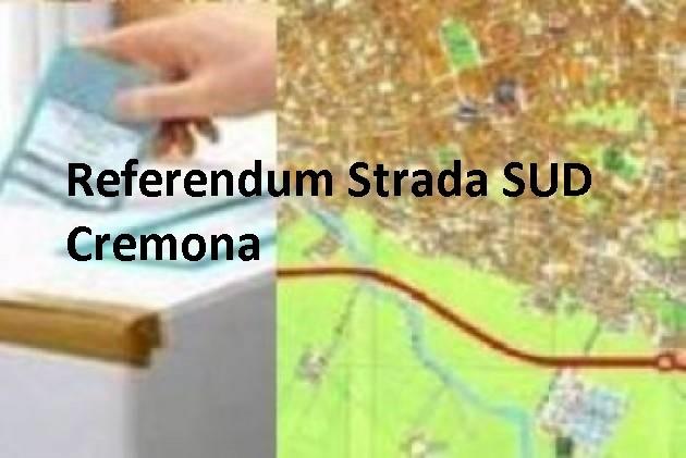 STRADA SUD Cremona Ecco come voterei se ci fosse il referendum Clicca qui